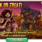 Castleville Halloween Treats Mission (Mia Quest)