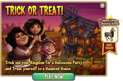 Castleville Trick or Treat Quests