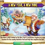 Castleville Duke's New Year's Resolution Quest Guide