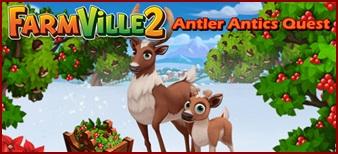 Farmville 2 Antlers Antic Quest