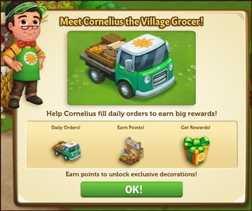 Farmville 2 Meet Cornelius