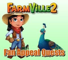 Farmville 2 Fan Appeal Quest Guide