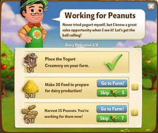 Farmville 2 Dairy Delicacies Quest