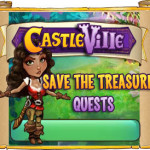 Castleville Save the Treasure Quests Guide