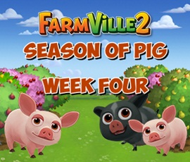 Farmville 2 Fourth Week Pig Season