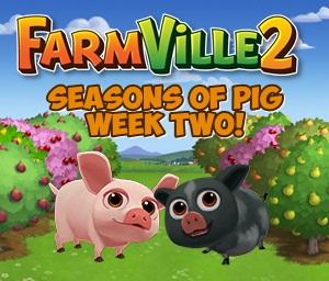 Farmville 2 Seasons of Second Week