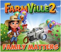 Farmville 2 Family Matters