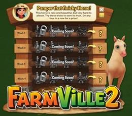 Farmville 2 Pamper that Finicky Horse