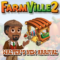 Farmville 2 Walter's New Arrival