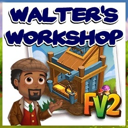 Farmville 2 Walter's Workshop