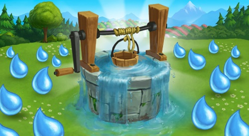 Free water Feature