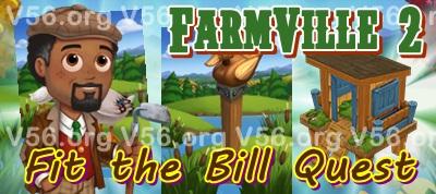 Farmville 2 Fit the Bill Quest