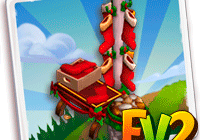Farmville 2 Holiday Stocking Station