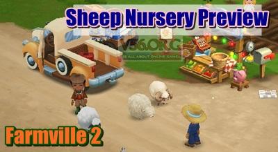 Farmville 2 Sheep Nursery Preview