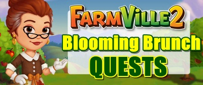 fARMVILLE 2 Blooming Brunch