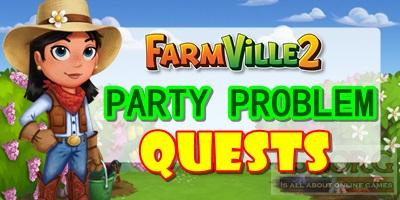 Farmville 2 Party Problem