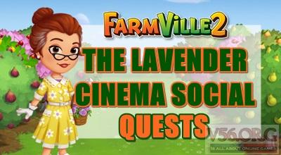 Farmville 2 The Lavender Cinema Social