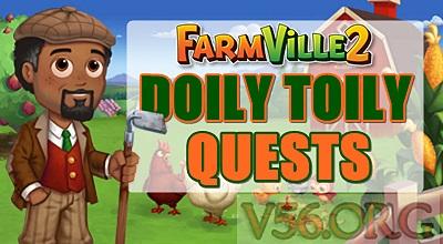 FARMVILLE 2 DOILY TOILY