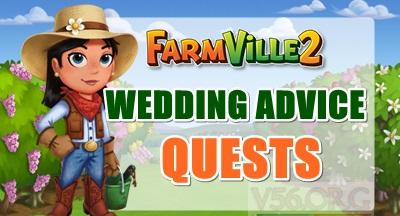 Farmville 2 Wedding Advice