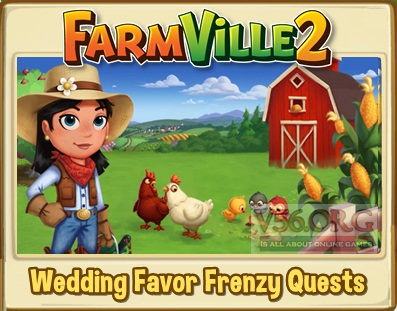 Farmville 2 Wedding Favor Frenzy