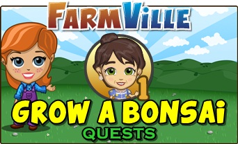 Farmville Grow a Bonsai
