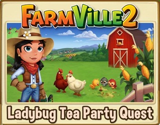 Ladybug Tea party quests