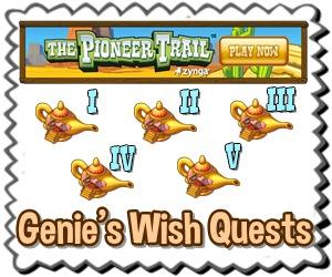 Genie's Wish Quests