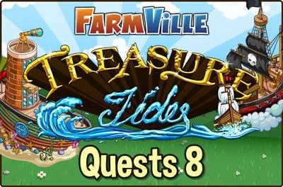 Treasure Tides Quest 8