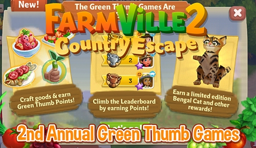 2nd Annual Green Thumb Games