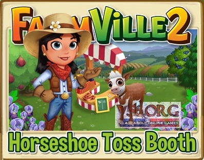 FV2 Horseshoe Toss Booth