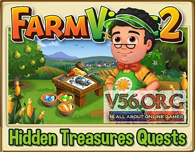 Farmville 2 Hidden Treasures
