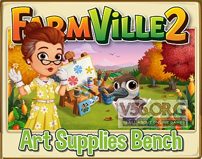 FV 2 Art Supplies Bench