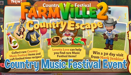 FV 2 Country Music Festival Event
