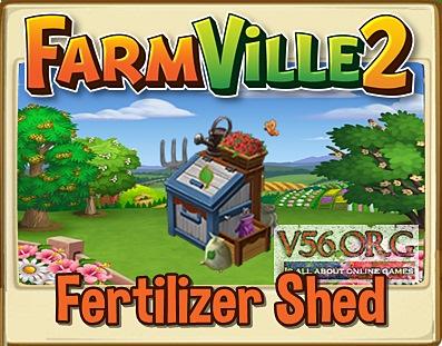 Farmville 2 Fertilizer Shed