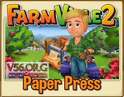 Farmville 2 Paper Press