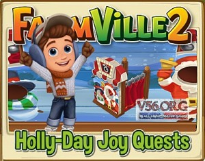 FV 2 Holly-Day Joy Quests