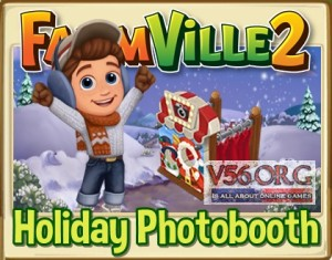 Farmville 2 Holiday Photobooth