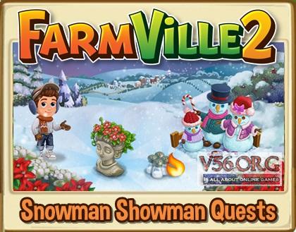 Snowman Showman Quest