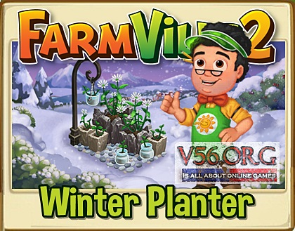 Farmville 2 Winter Planter
