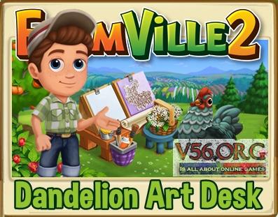 FV 2 Dandelion Art Desk