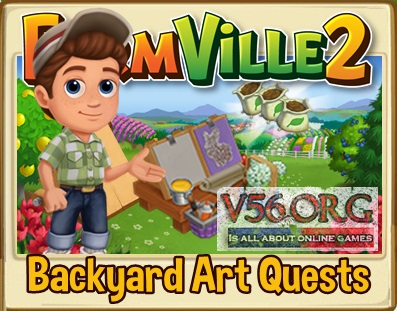 Farmville 2 Backyard Art Quests