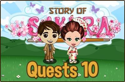 Farmville Story of Sakura Quests 10