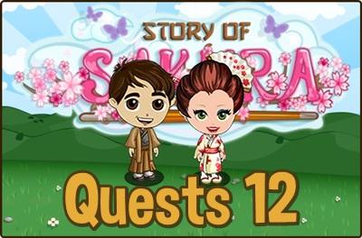 Story of Sakura Quests 12
