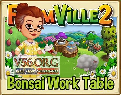 Bonsai Work Table Preview