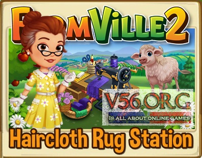 FV2 Haircloth Rug Station
