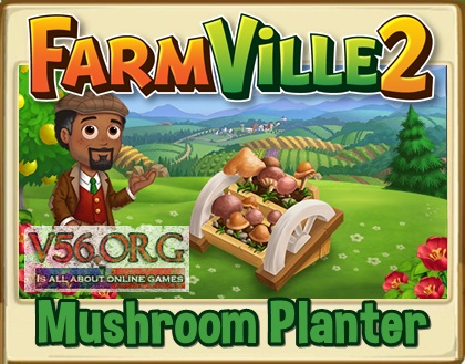 FV2 Mushroom Planter