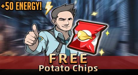Criminal Case Free Potato Chips